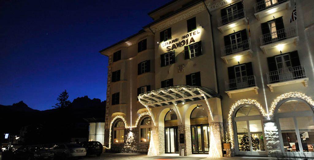 Il Grand Hotel Savoia 5* vi sta aspettando