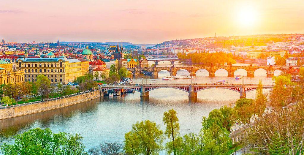 Praga vi accoglierà a braccia aperte.