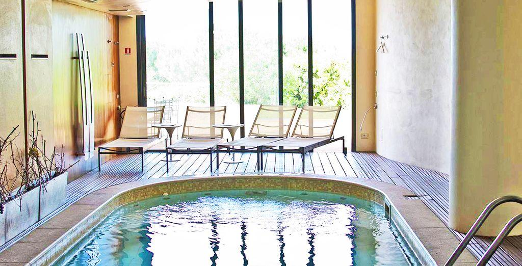 Rilassatevi nell'accogliente spa, uno spazio esclusivo dove dedicarsi al proprio benessere