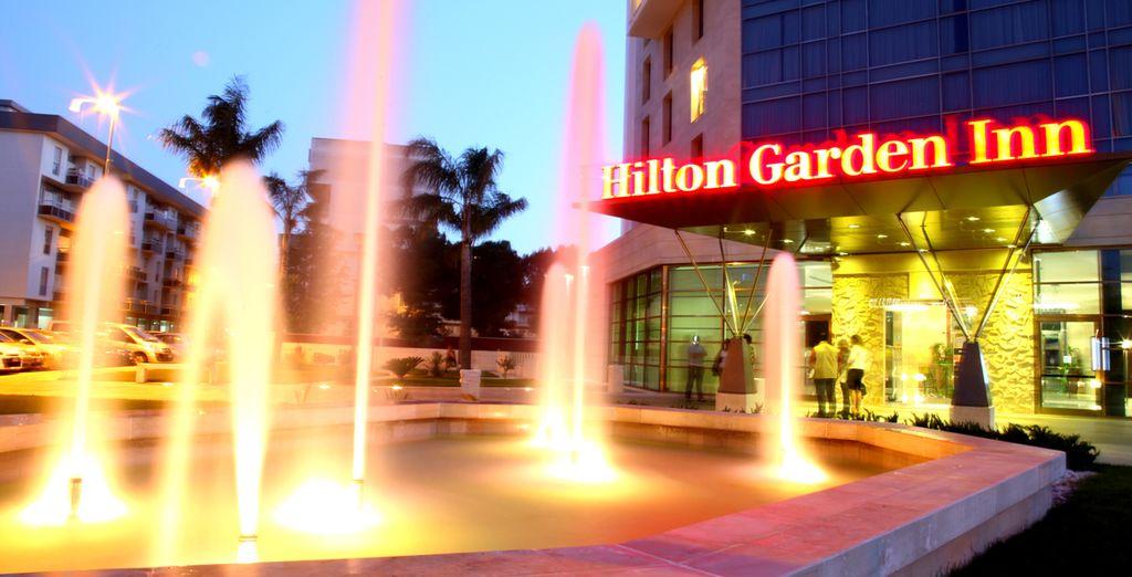 Struttura della prestigiosa catena Hilton