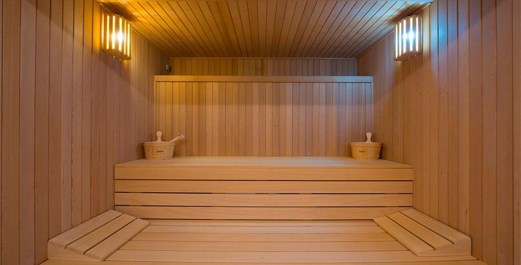 Dalla sauna tonificante