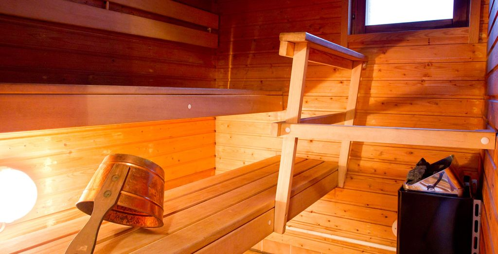 Godetevi una sauna rilassante