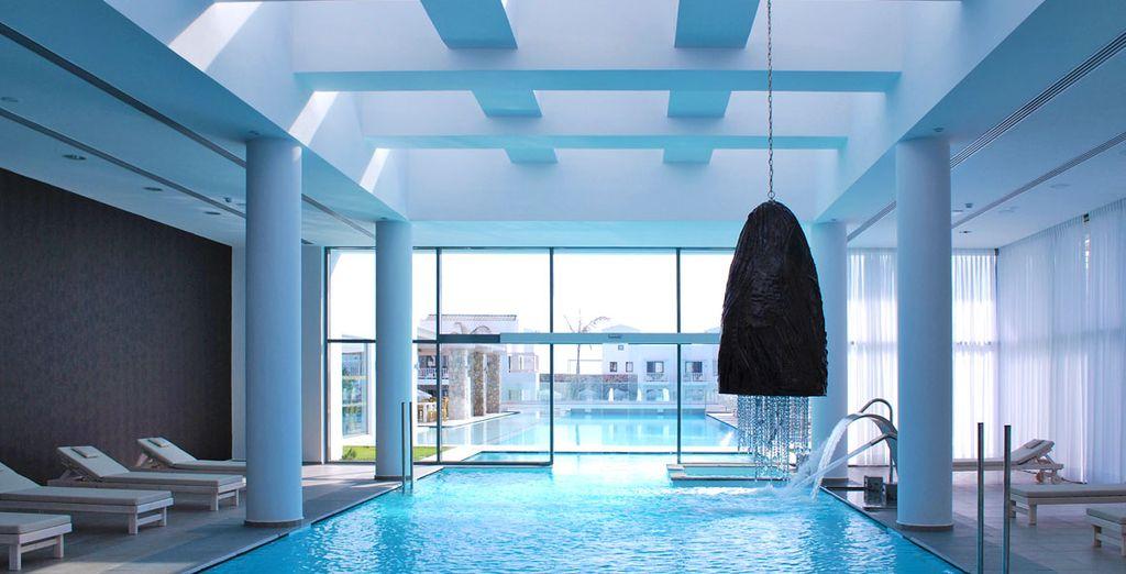Concedetevi momenti di puro benessere rilassandovi all'interno della spa