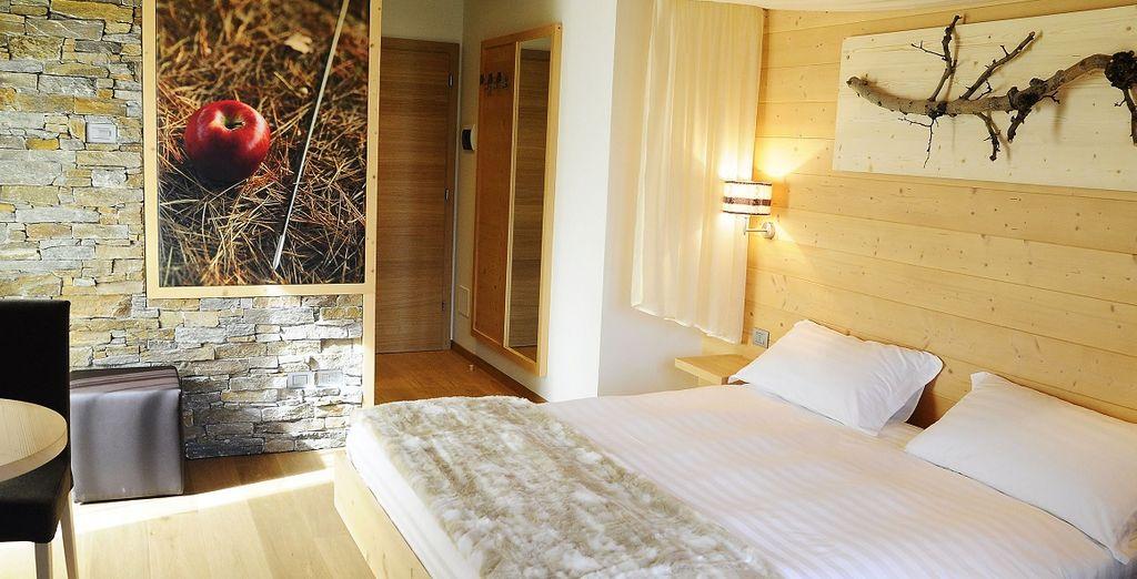 Concedetevi un soggiorno all'insegna del benessere nell'accogliente Val di sole in Trentino all'Agritur Il Tempo delle Mele