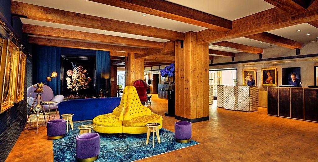 Benvenuti al Pulitzer Hotel, una struttura dal design accattivante e originale