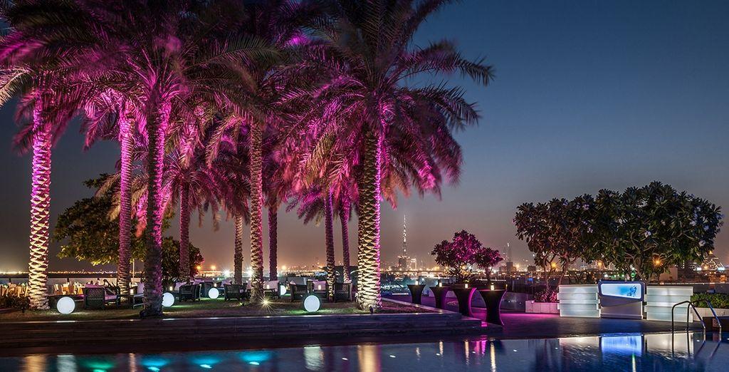 Lo Skyline lounge è il luogo perfetto per un drink serale