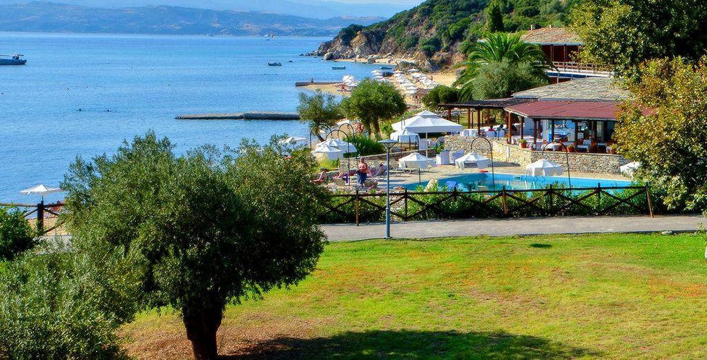 lo Xenia Ouranoupolis Hotel 4* vi accoglierà