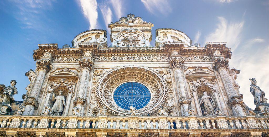 Provate il fascino autentico di Lecce, città barocca ricca di storia