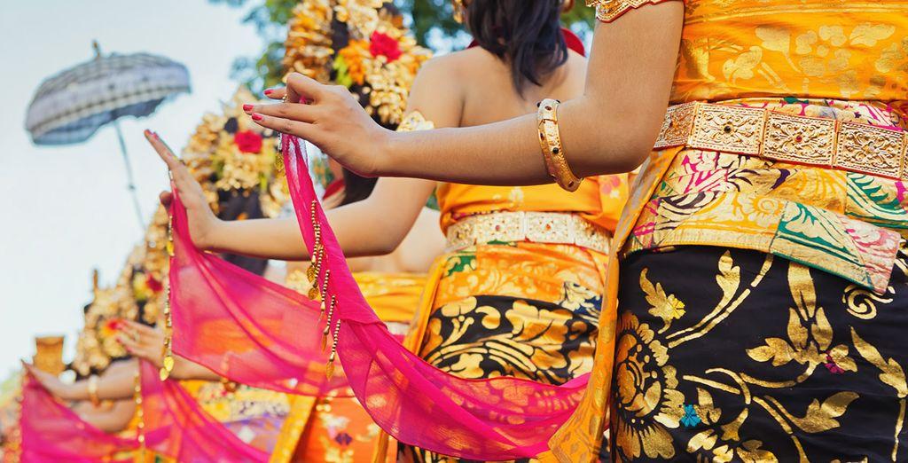 e vivrete un'esperienza indimenticabile con la scoperta delle bellissime danze balinesi.