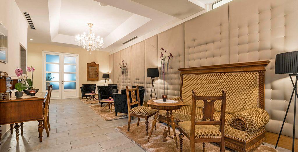 Troverete un elegante hotel di design