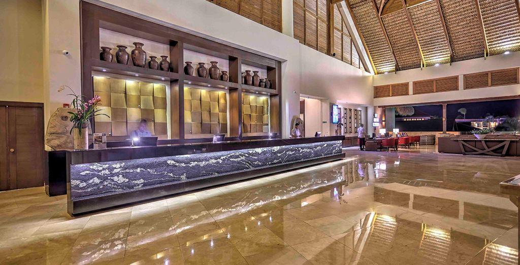 Una calda accoglienza vi darà il benvenuto nell'elegante struttura