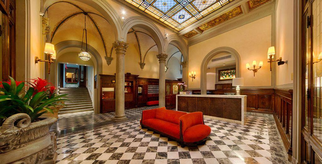 Un hotel storico vi attende nel cuore di Firenze