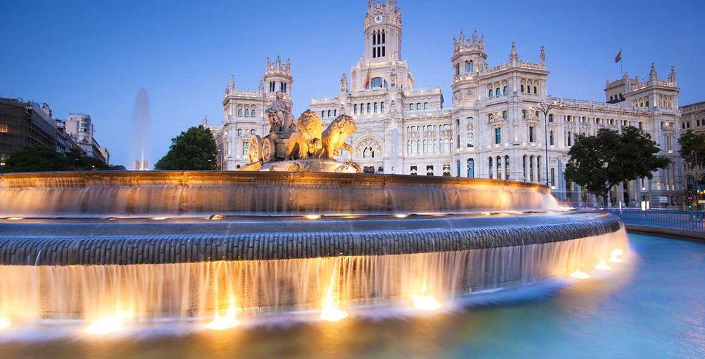 Hotel di alta gamma nel centro di Madrid, vicino a tutte le attività