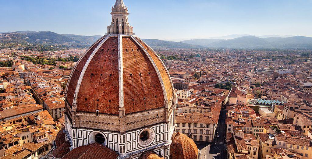 La capitale dell'arte e della cultura italiana vi aspetta