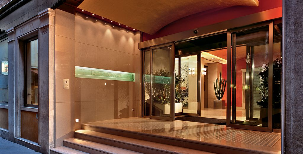 L'hotel Palace Bonvecchiati 4* vi aspetta