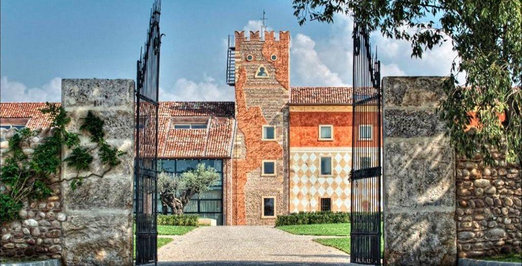 Inserito in un contesto d'eccezione alle porte di Verona