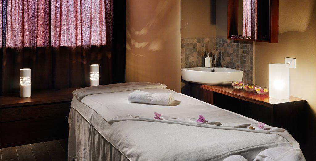 A vostra disposizione una splendida spa, per vivere momenti di totale relax