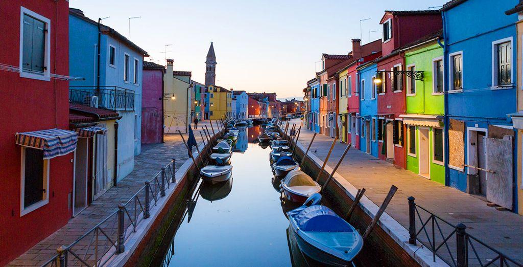 Benvenuti a Burano, l'isola dei colori!