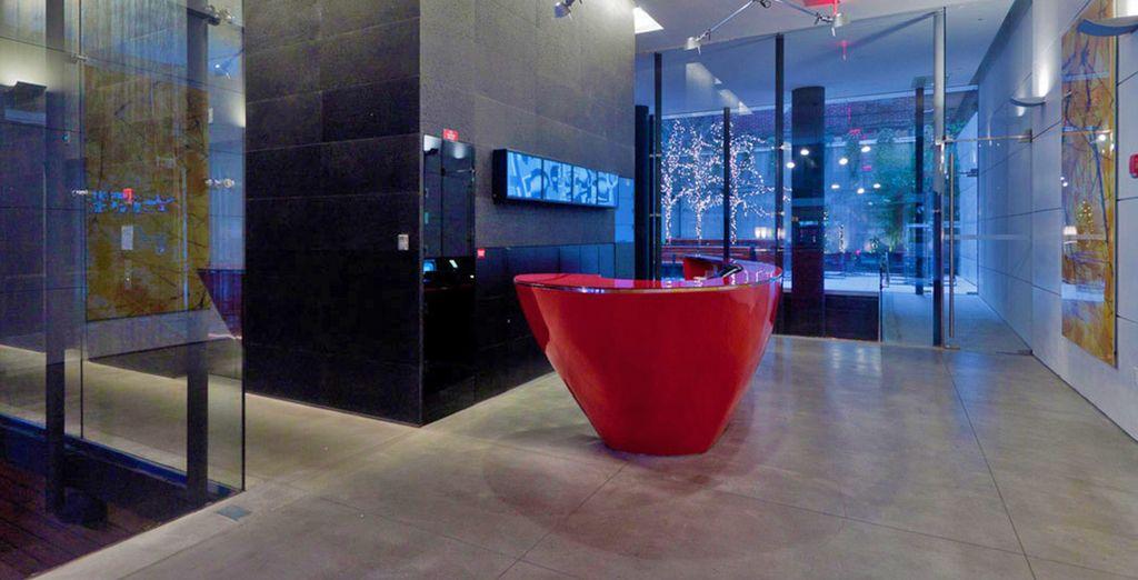Lussuoso, elegante e nel centro di Manhattan