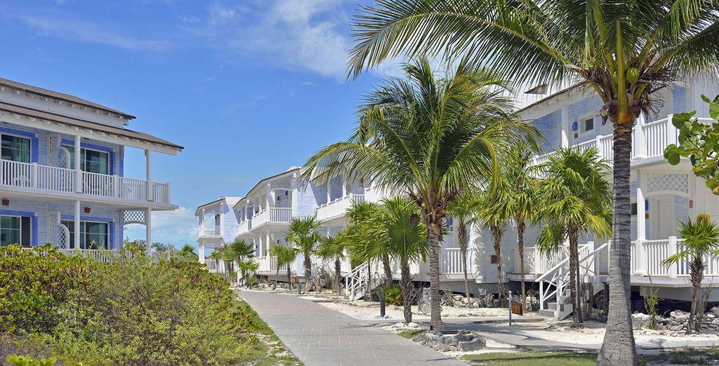 un ampio resort dove troverete tutti i servizi ideali per la vostra vacanza