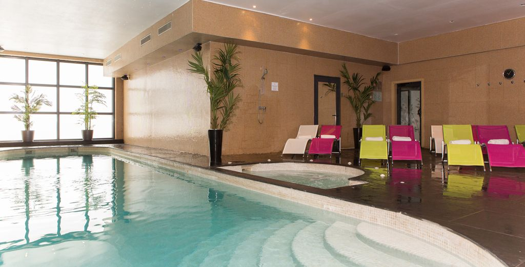 Dedicatevi al vostro benessere nella spa dell'hotel