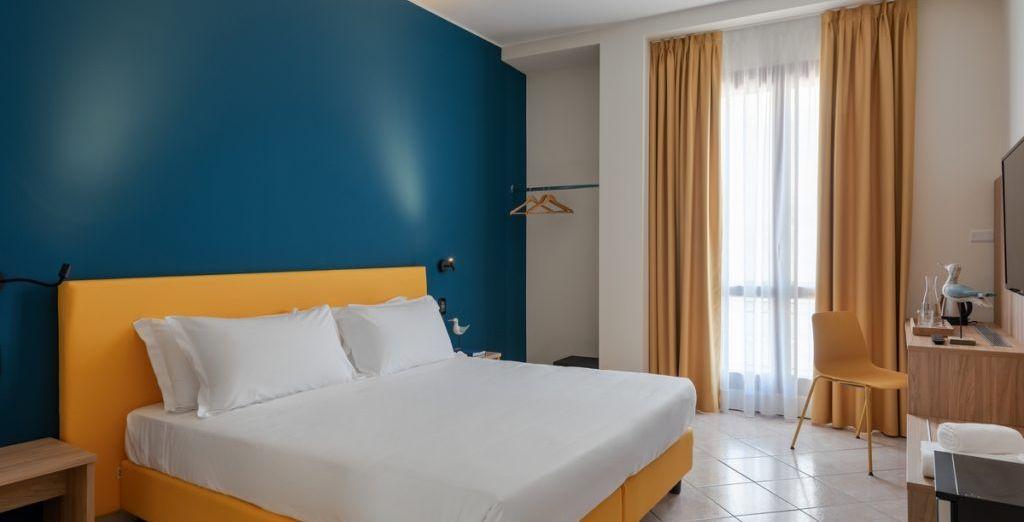 Hotel di lusso con confortevole camera doppia nel cuore di Alassio in Italia