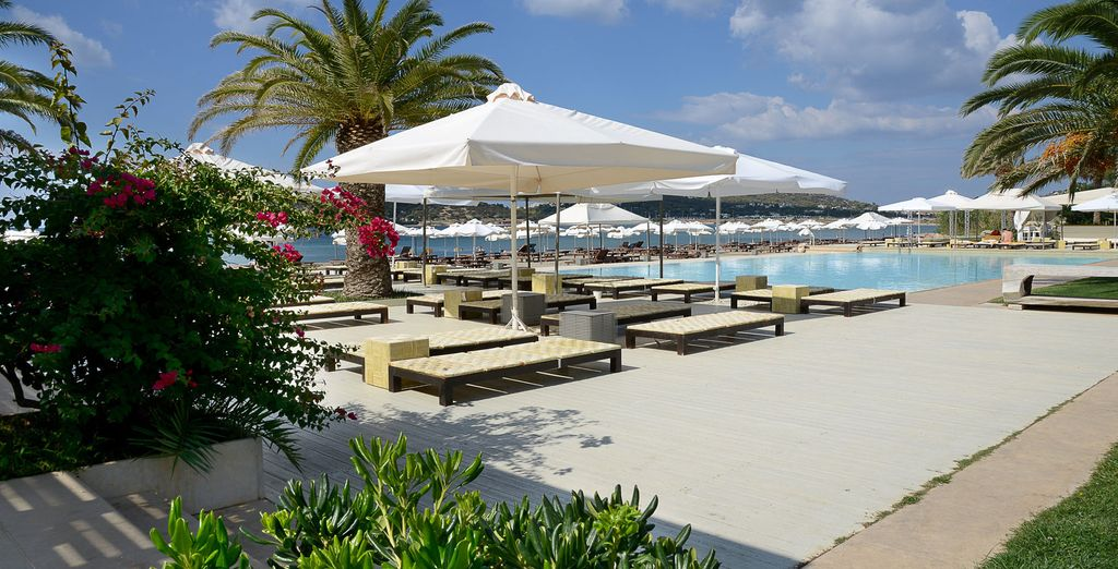 Hotel di lusso con tutti i comfort, con piscina, terme e zona relax, selezionato da Voyage Privè