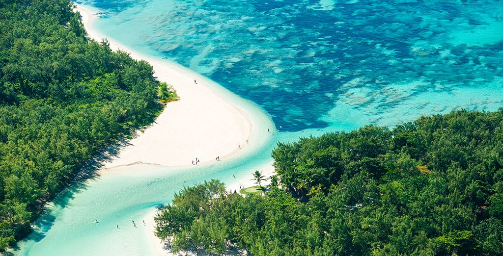 Fotografia di Mauritius, delle sue spiagge paradisiache e delle sue acque turchesi