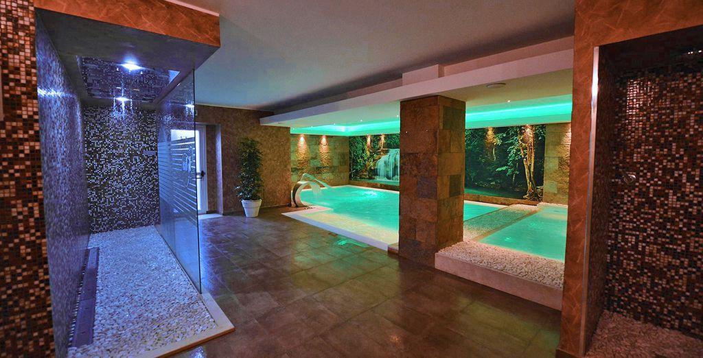 Affitto di un hotel di lusso con spa, piscina coperta e zona relax in Sicilia