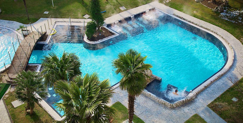 Hotel di charme con piscina, spa e area relax in Italia