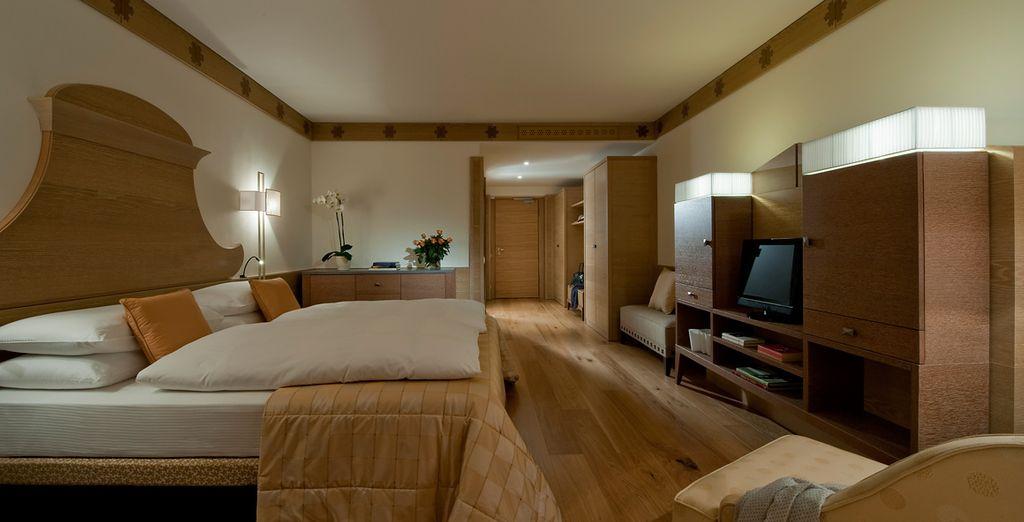 Hotel di lusso a 5 stelle, camere spaziose e confortevoli nel cuore del Veneto