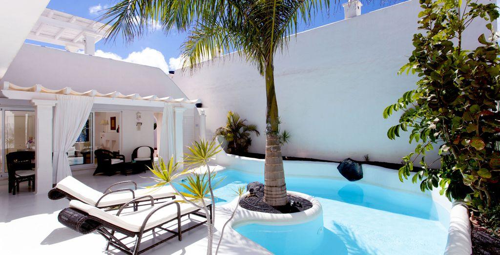 Hotel di alta gamma con piscina privata e zona relax alle Isole Canarie