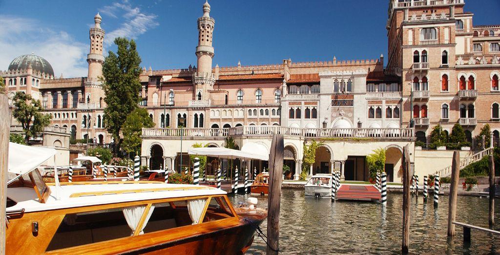 Fotografia della città italiana di Venezia