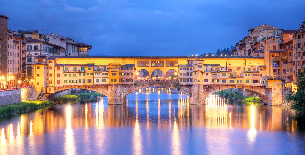 Fotografia dei bellissimi quartieri di Firenze