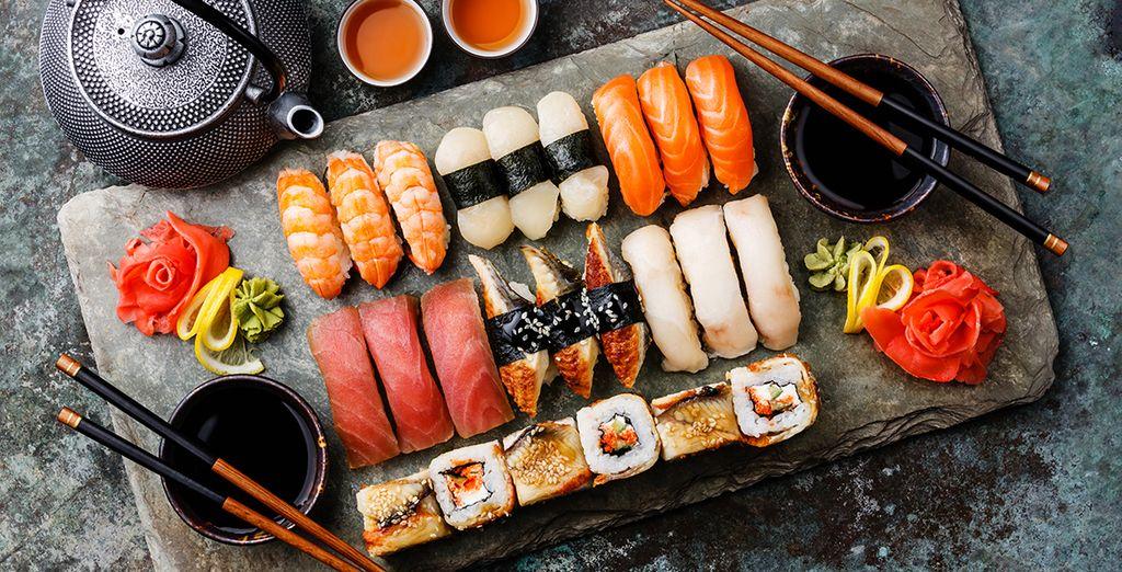 Specialità culinarie dal Giappone