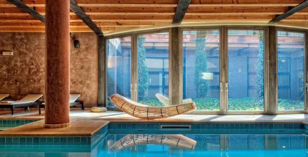 Hotel con piscina coperta riscaldata a Verona