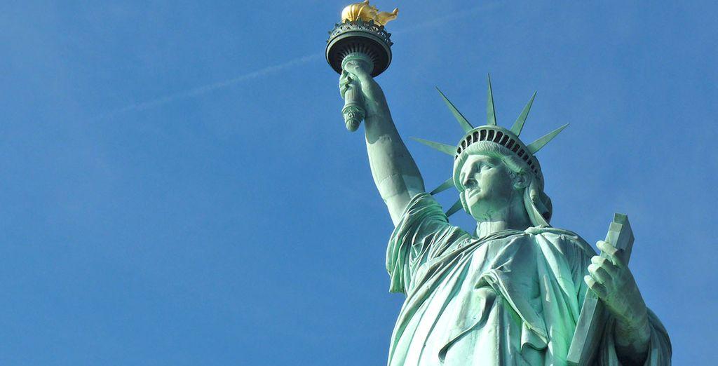 Partite per la splendida New York