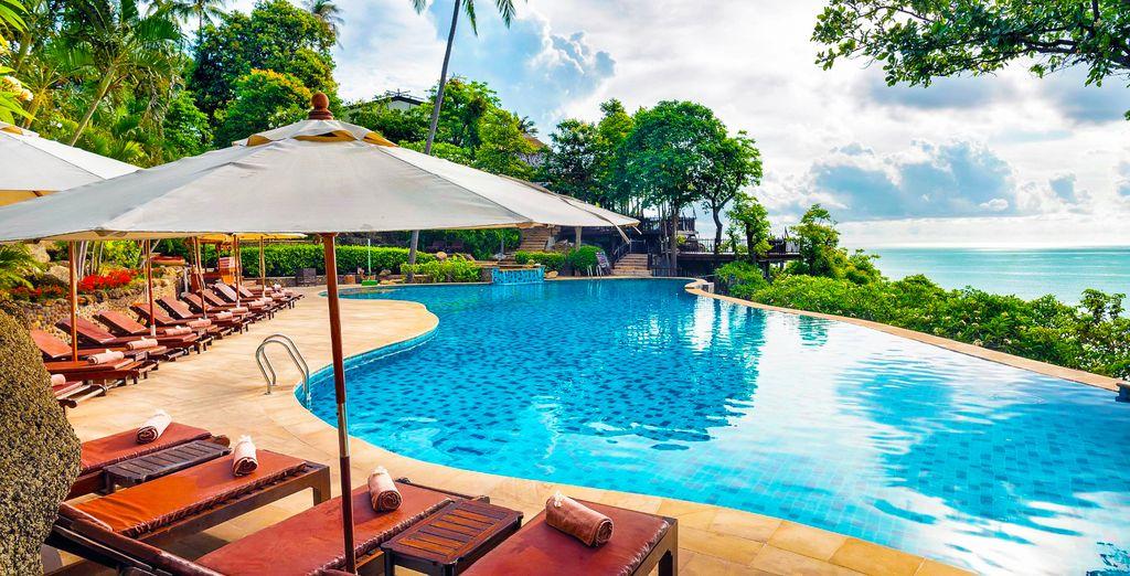 Samui Buri Beach Resort 4* + Panviman Resort 5* - Koh ...