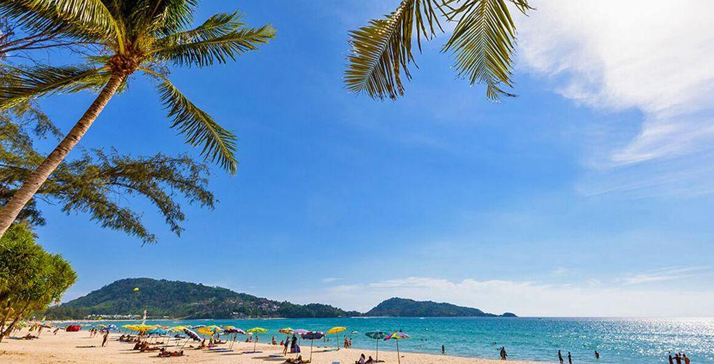 Trascorrete le vostre giornate sulla bellissima spiaggia di Patong