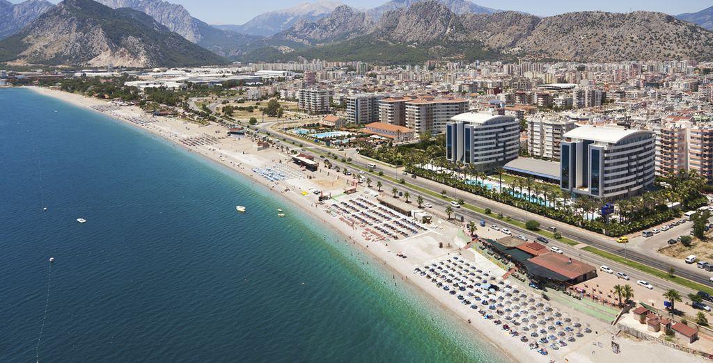 Uno splendido resort situato di fronte al mare