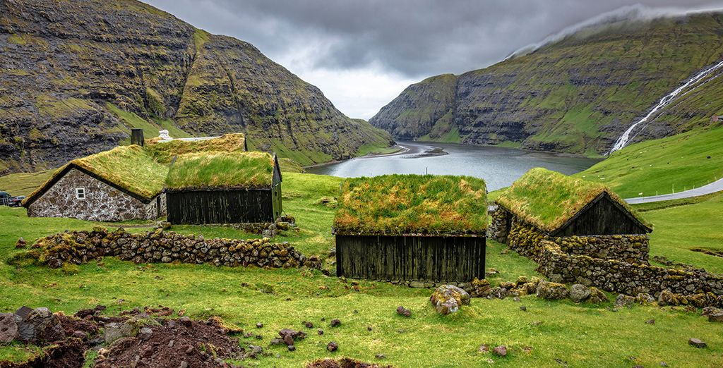 Fly and drive isole Faroe