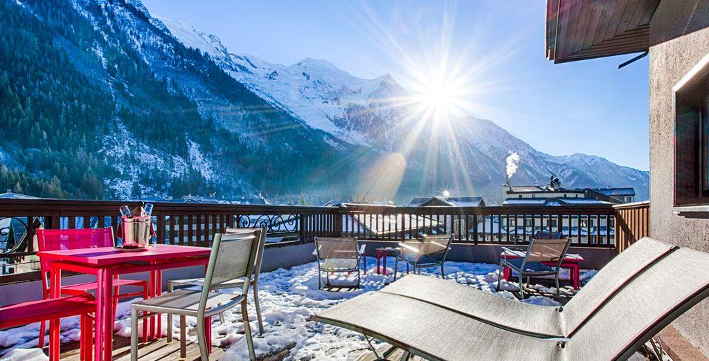 Per respirare un po' d'aria fresca venite a Chamonix