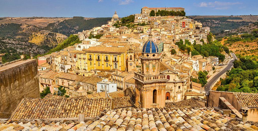Fotografia della città di Ragusa
