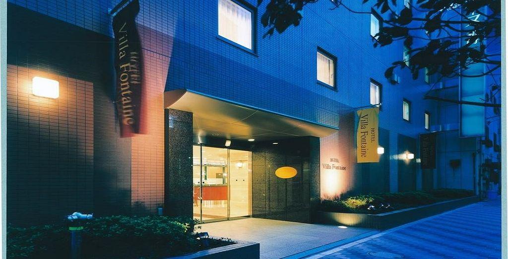 Riposerete all'Hotel Villa Fontaine Nihombashi Hakazaki