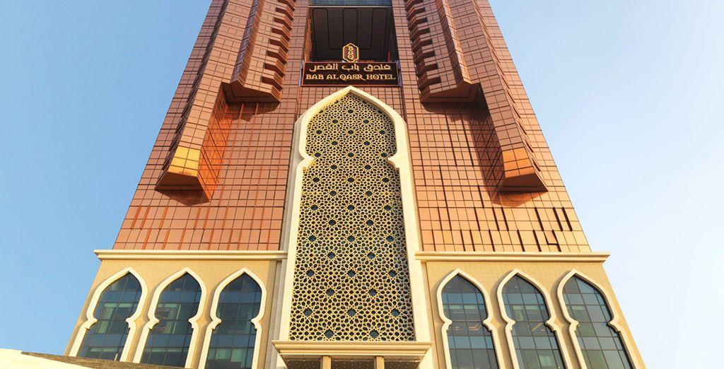 L'Hotel Bab Al Qasr è lieto di darvi il benvenuto