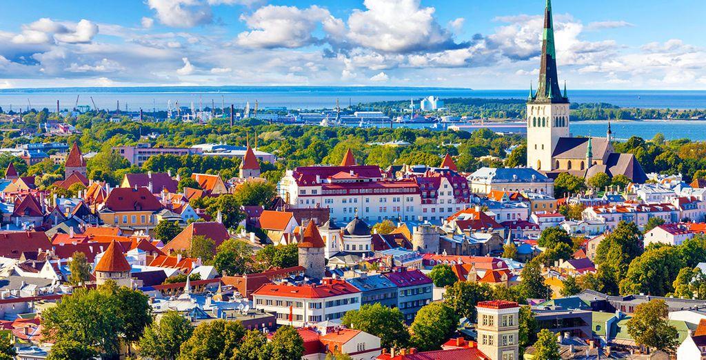 Farete tappa anche a Tallinn, capitale Estone
