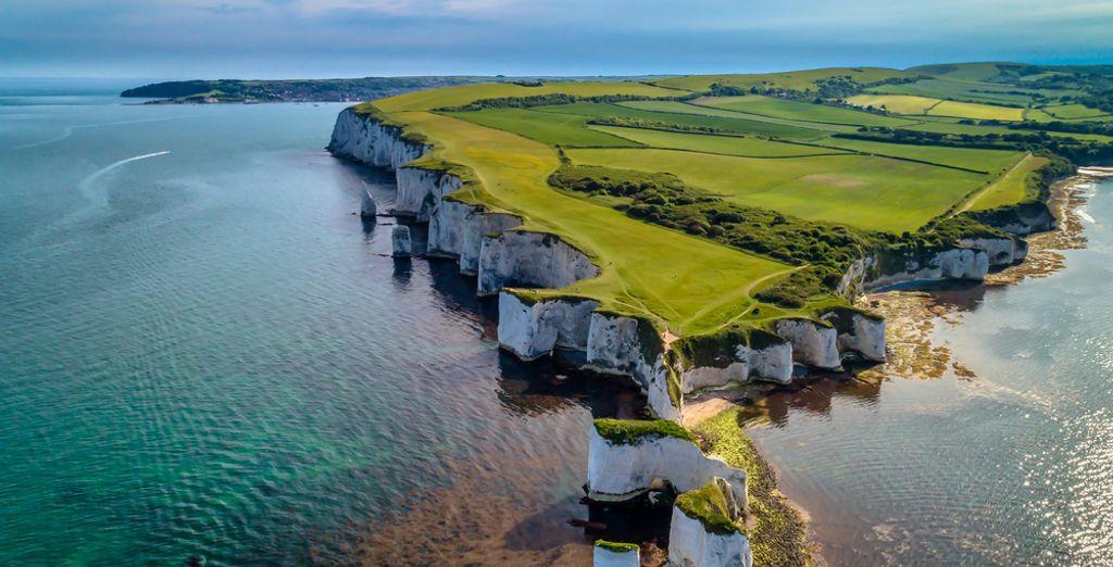 Paesaggio del Regno Unito, pianure e coste scoscese