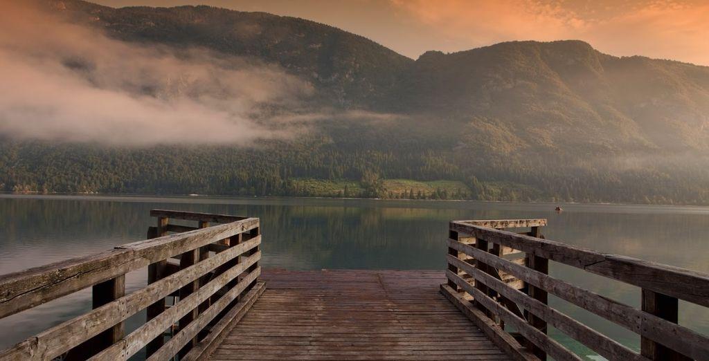 il più grande lago naturale della Slovenia