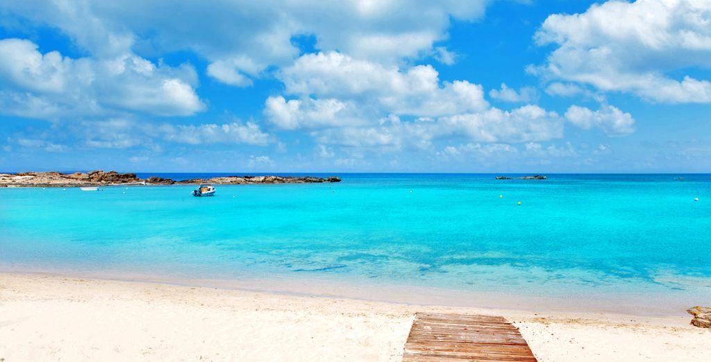 Fotografia delle spiagge di Formentera e delle sue acque cristalline