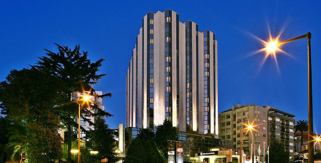 Un elegante hotel 5 stelle vi attende